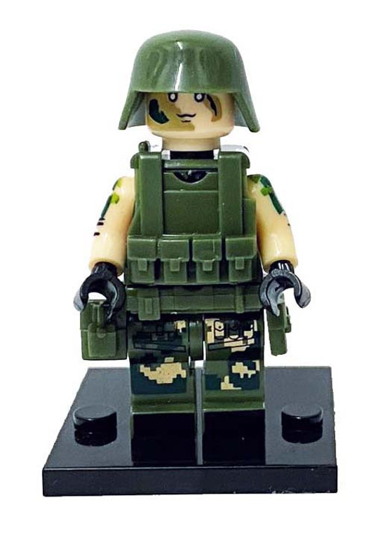 Custom Minifigure - Special Forces #6