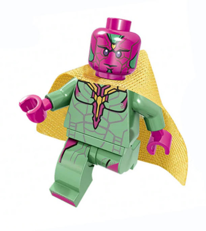 Minifigure - Marvel - Vision