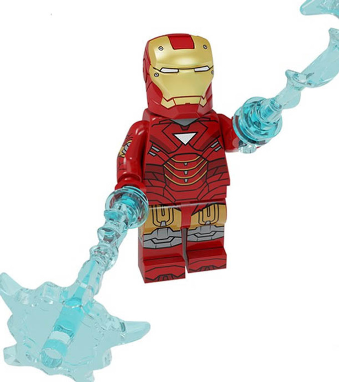 Minifigure - Marvel - Iron Man MK 6