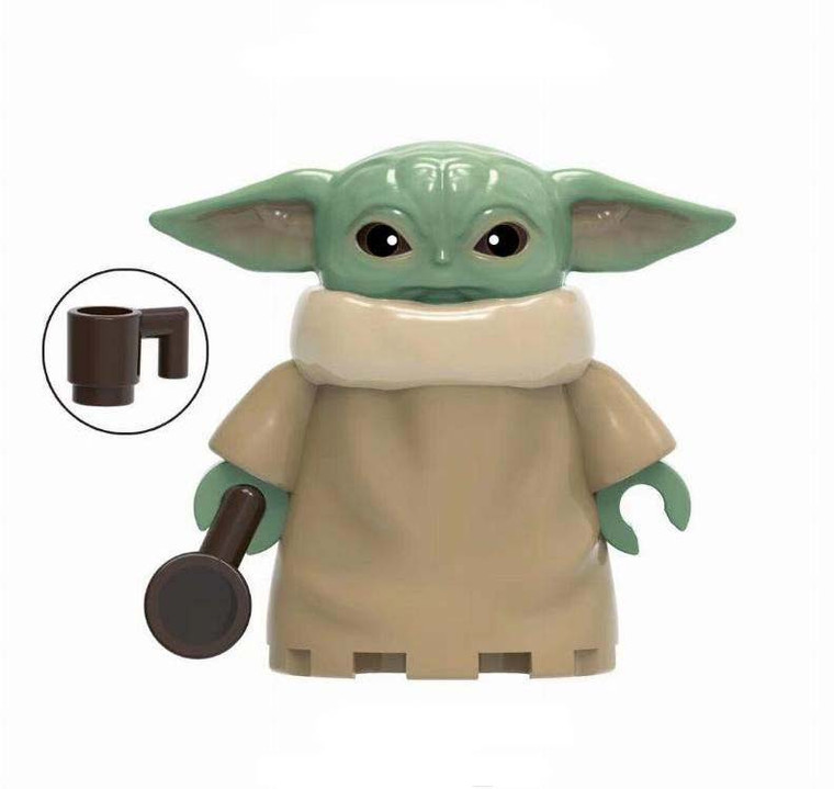 Minifigure - Star Wars - Baby Yoda with Cup