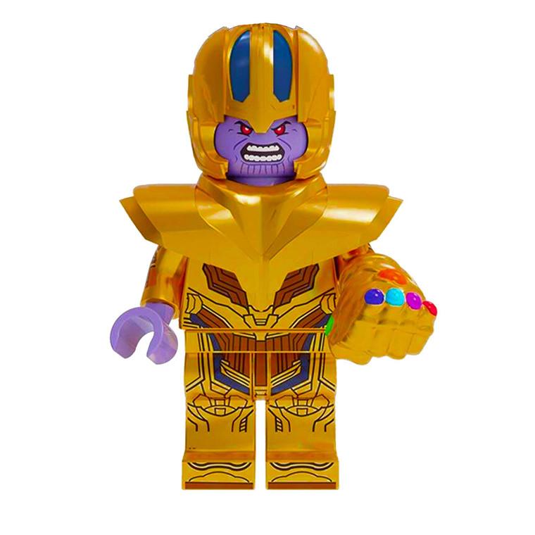 Minifigure - Marvel - Thanos with Glove & Stones