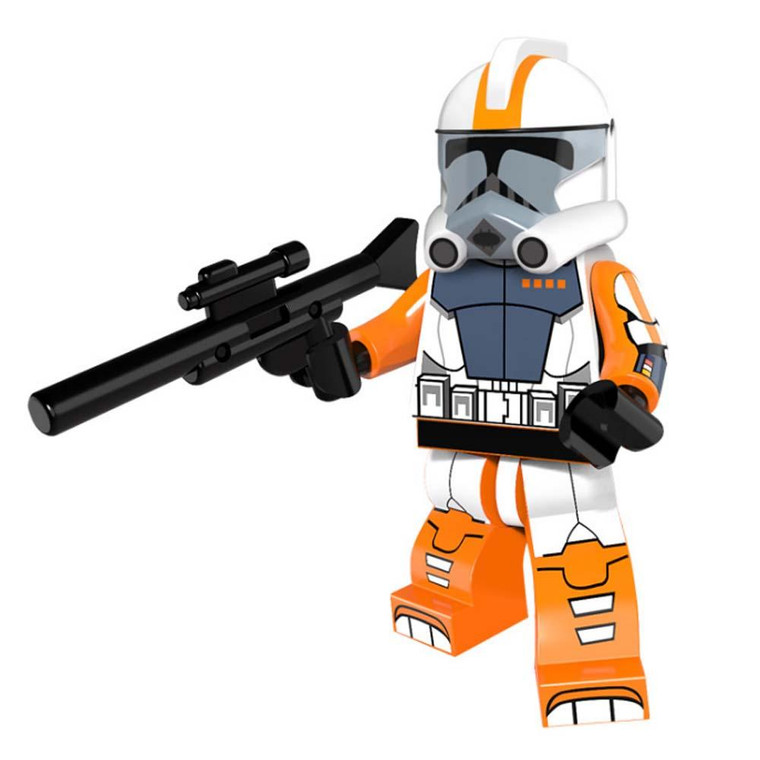 Minifigure - Star Wars - Orange Trooper