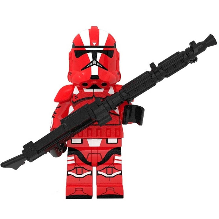 Minifigure - Star Wars - Red Corps Trooper