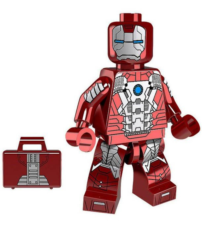 Minifigure - Marvel - Iron Man with Suitcase