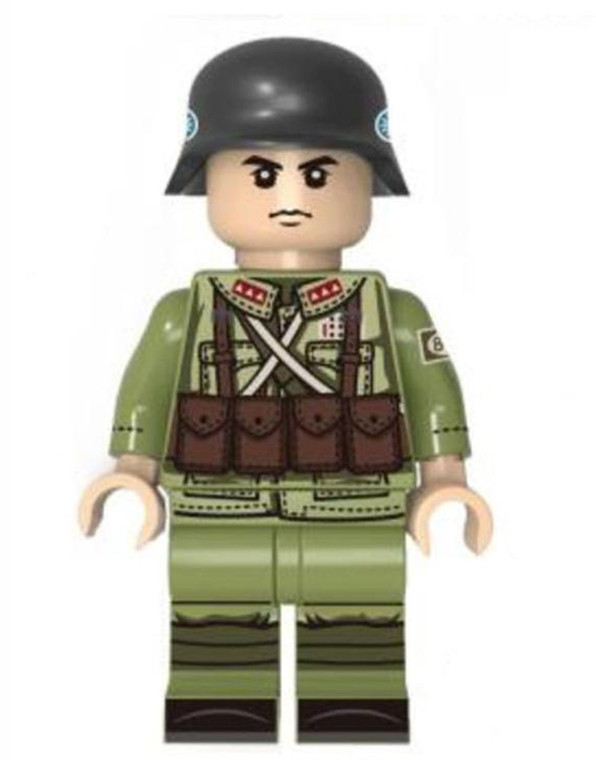 Custom Minifigure - WW2 German Soldier 4
