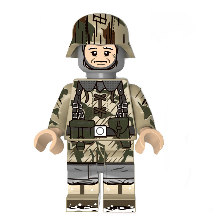 Custom Minifigure - WW2 German Camo Soldier