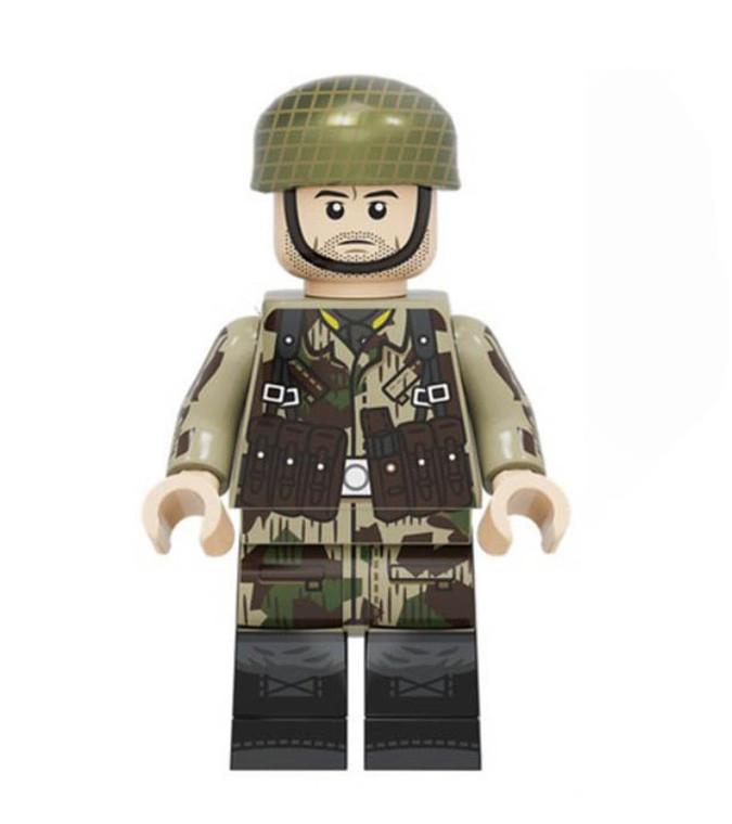 Custom Minifigure - WW2 German Paratrooper Soldier 2