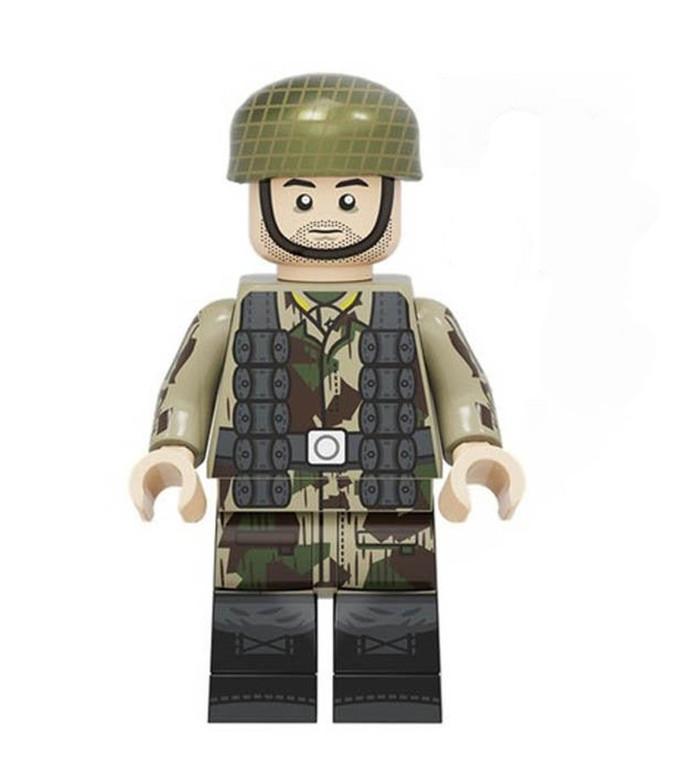 Custom Minifigure - WW2 German Paratrooper Soldier 4