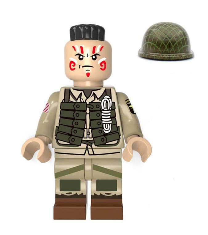 Custom Minifigure - US Army Airborn Divsion Soldier