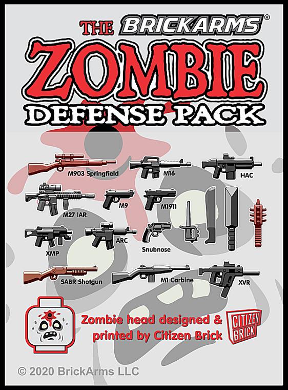 BrickArms Zombie Defense Pack - 2020