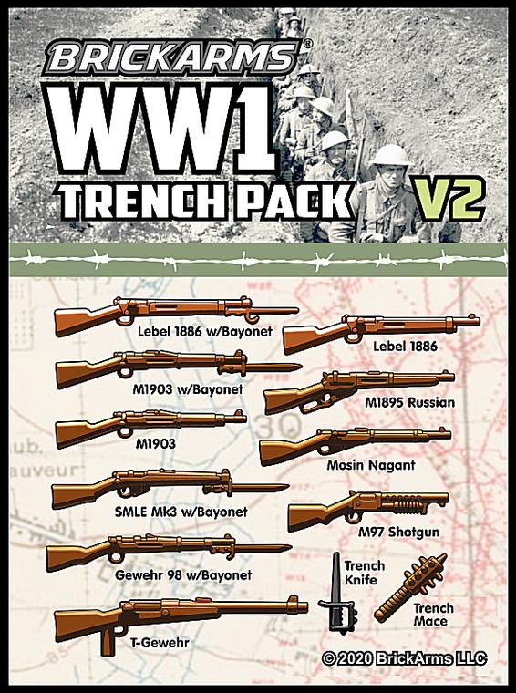 BrickArms WW1 Trench Pack v2