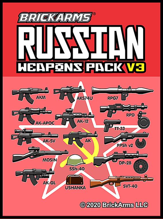 BrickArms Russian Pack v3