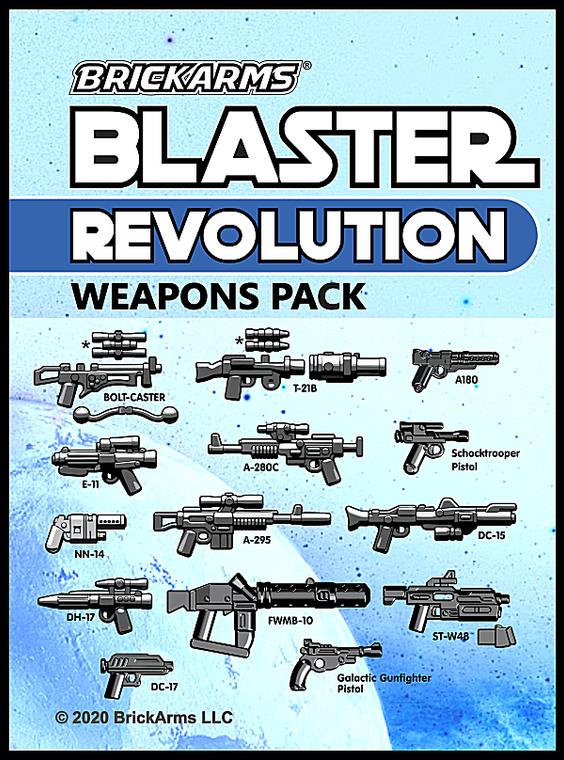 BrickArms Blaster Pack - Revolution