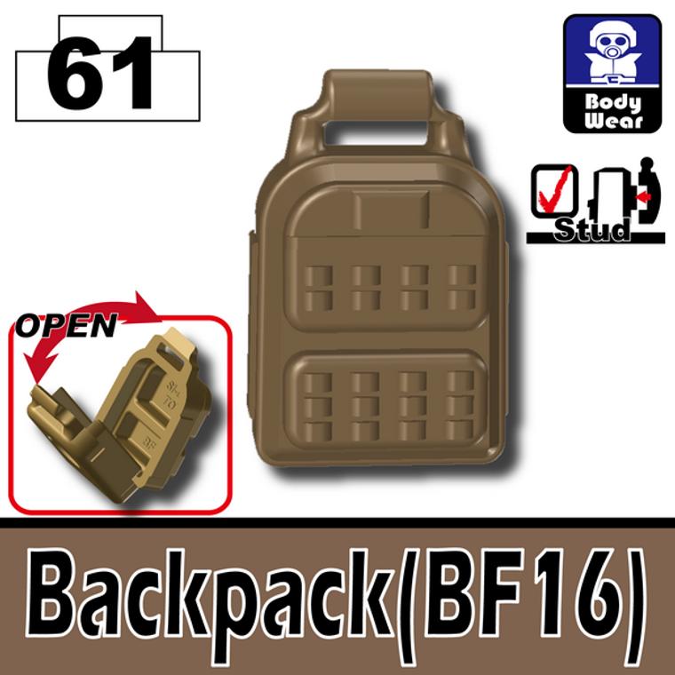Backpack (BF16) Dark Tan