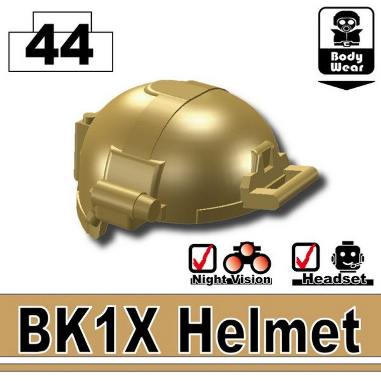 BK1X Helmet Dark Tan