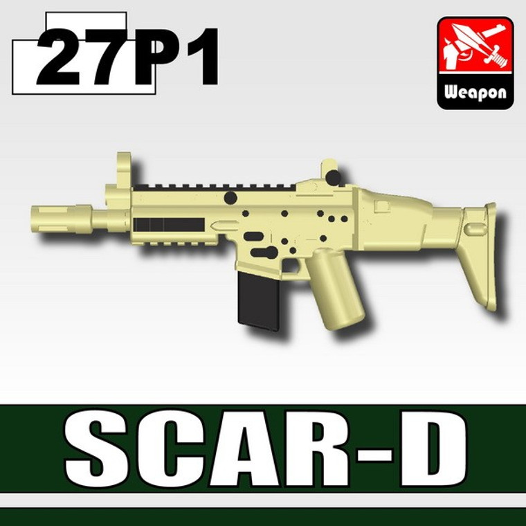 SCAR-D Tan & Black