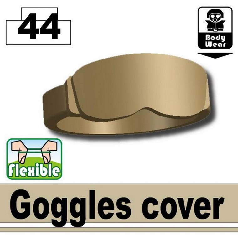 Goggles Cover Dark Tan