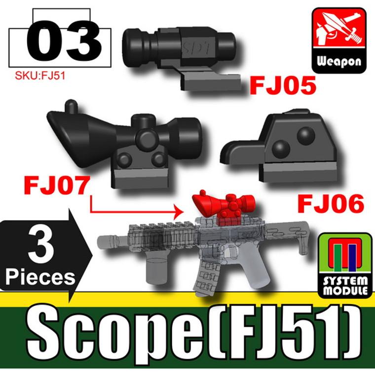 SI-DAN Black Scope (FJ51)