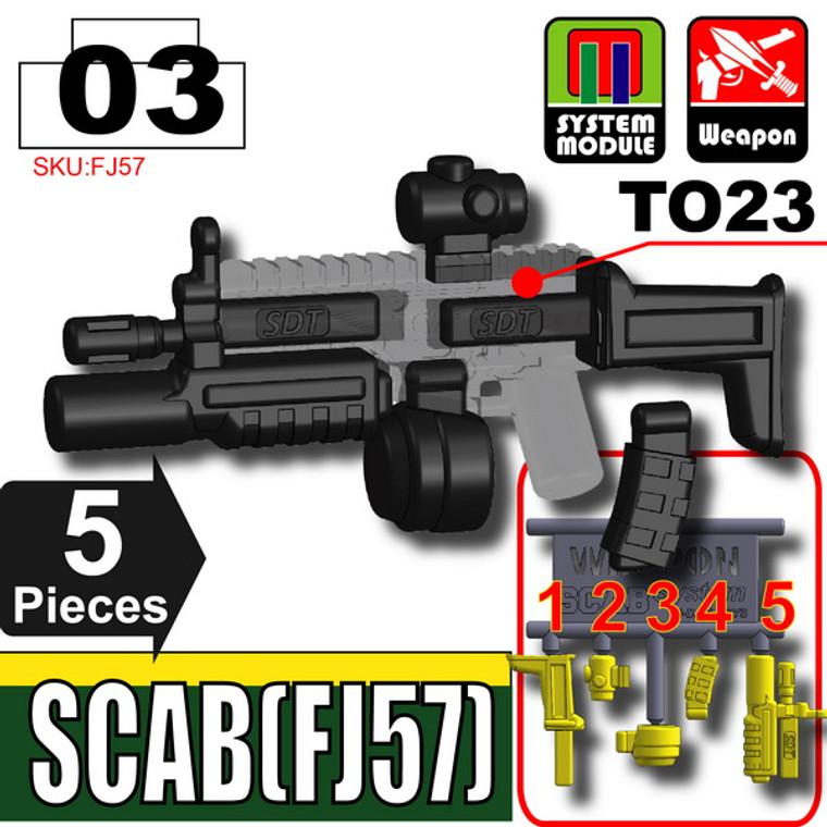 SI-DAN Black SCAB (FJ57)