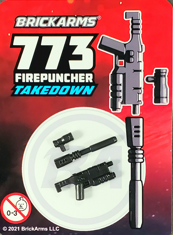 BrickArms 773 Firepuncher Takedown Blaster Rifle
