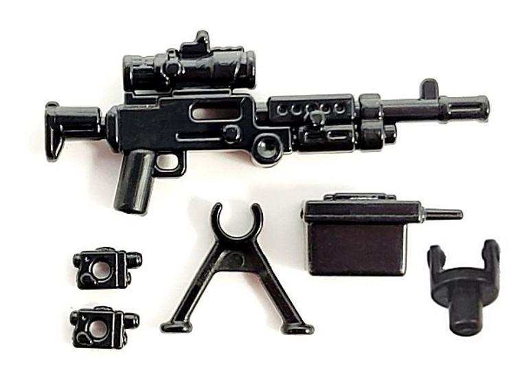 BrickArms M240B-USMC w/PEQ + Bipod & Ammo Can