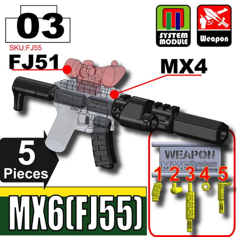 SI-DAN Black MX6 (FJ55)