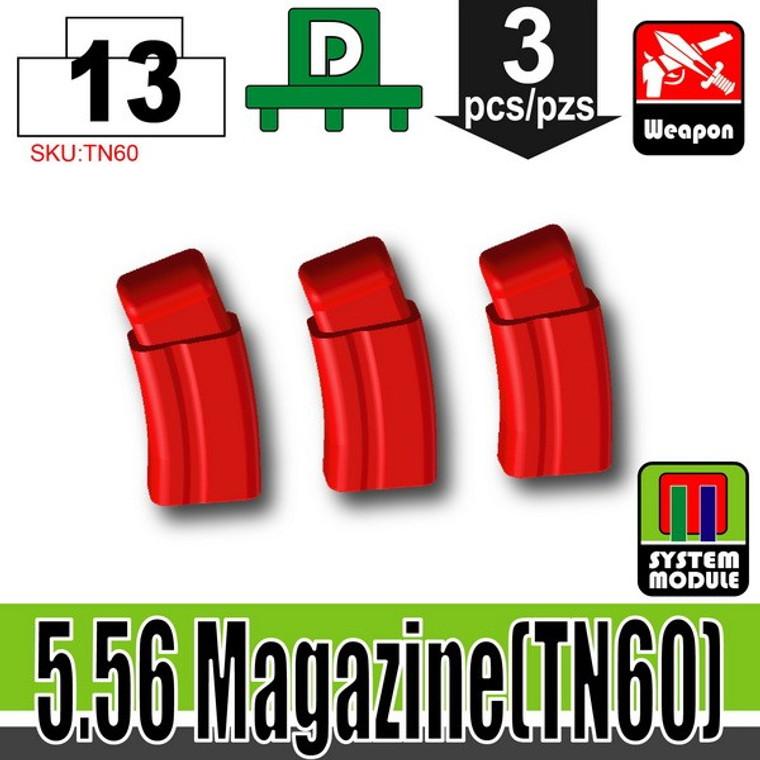 SI-DAN Red 5.56 Magazine (TN60)