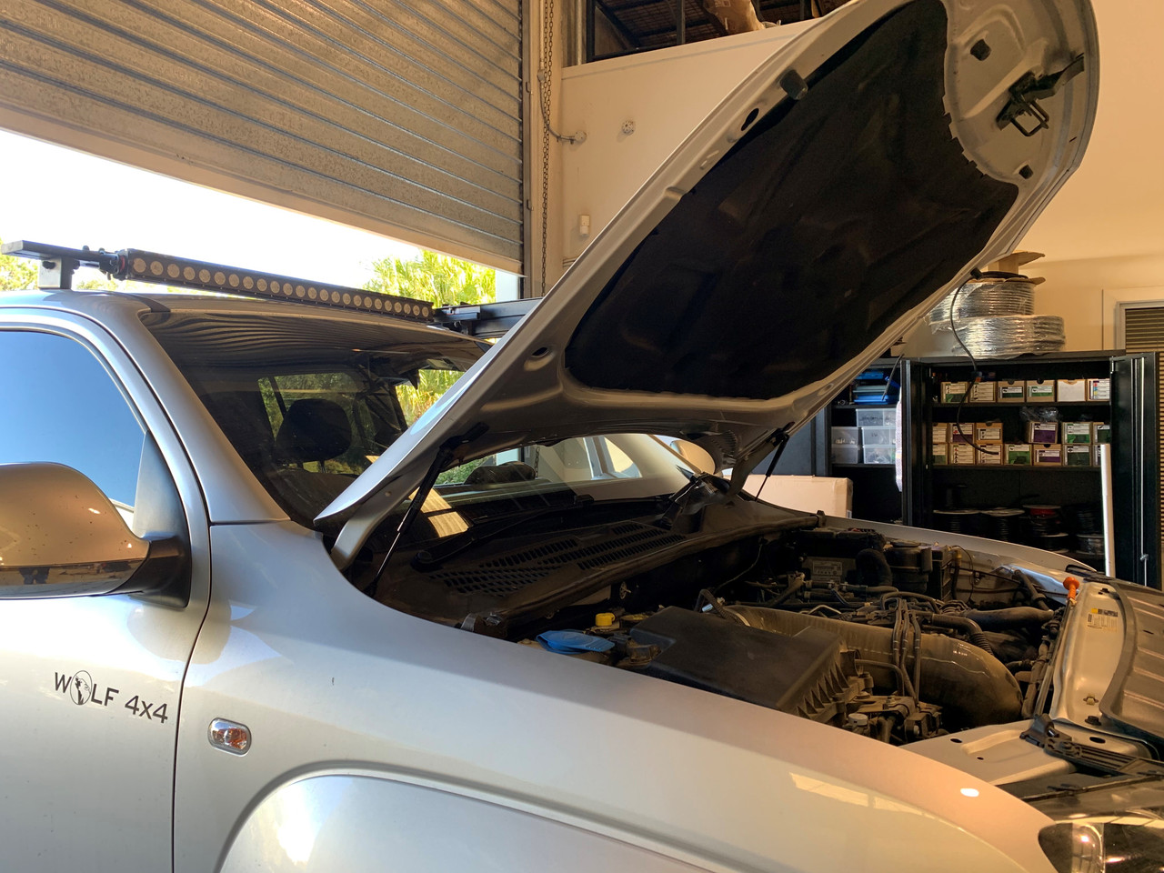 EZ-Up Hoodlift for Volkswagen Amarok
