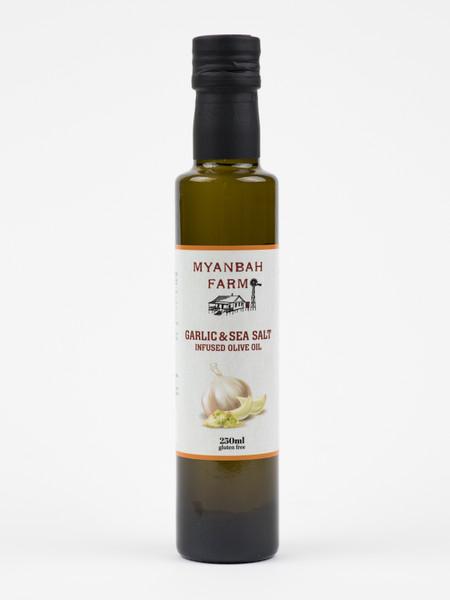 Garlic & Sea Salt Infused Olive Oil 250ml