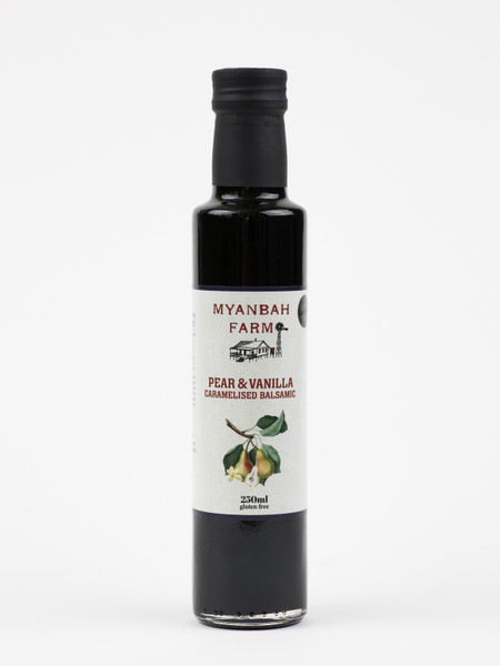 Caramelised Balsamic with Pear & Vanilla 250ml