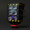 Dual Full Spectrum and Infrared Night Vision Camera Light