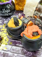 Bath Bomb Cauldron - Samhain (Black Tourmaline) - Special Edition Artisan Series