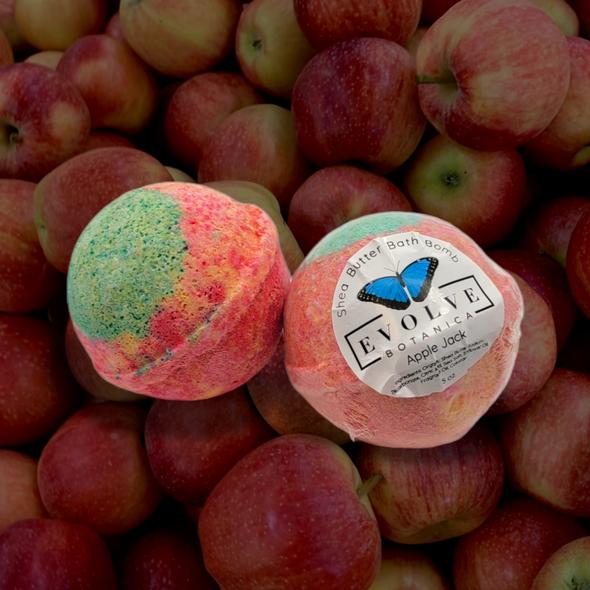 Bath Bomb - Apple Jack (Seasonal - Fall)