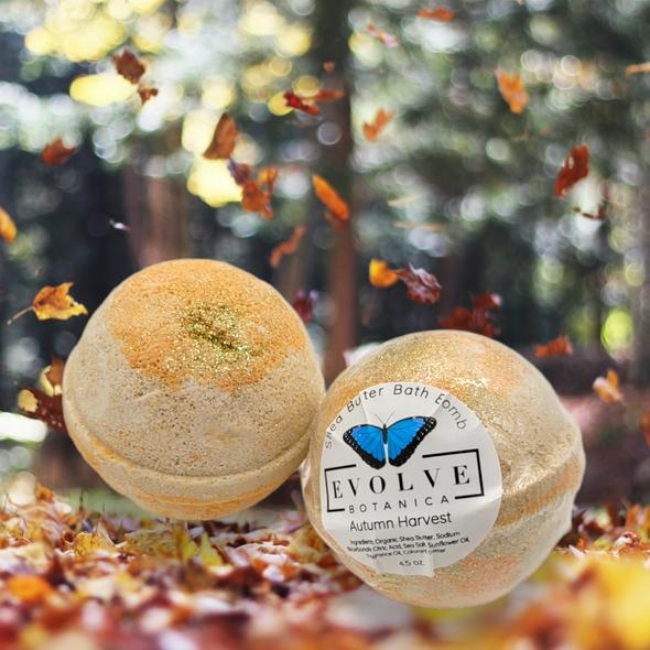 Bath Bomb - Autumn Harvest (Seasonal - Fall)