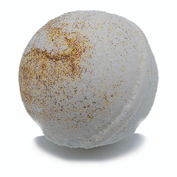 Bath Bomb - Chakra Collection - Quartz / Spiked Eggnog (Seasonal - Fall)
