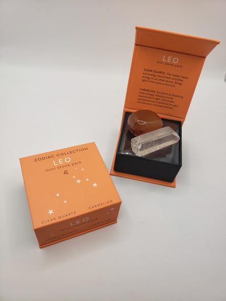 Leo Zodiac Mini Stone Pack