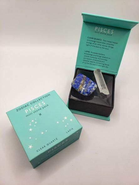 Pisces Zodiac Mini Stone Pack