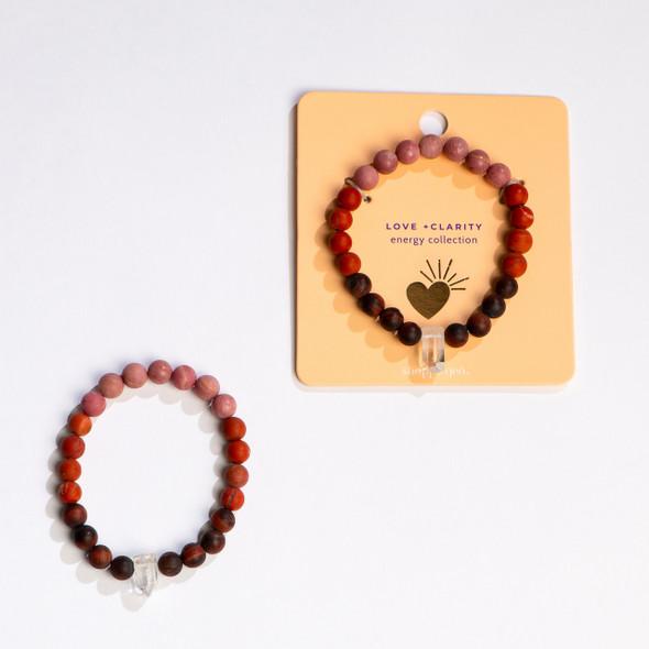 Energy Collection: Love + Clarity Bracelet