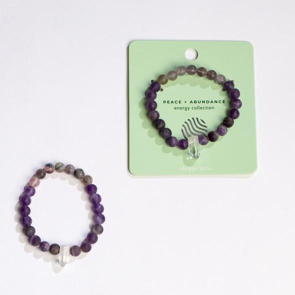 Energy Collection: Peace & Abundance Bracelet