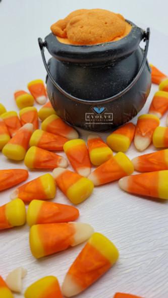 Bath Bomb Cauldron - Candy Corn