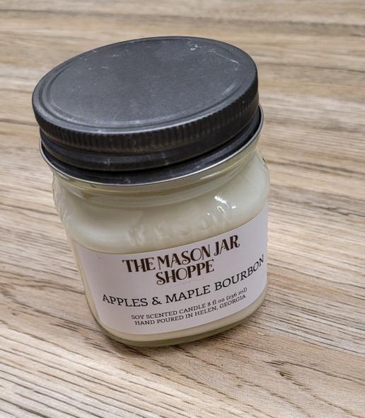 Apple & Maple Bourbon - 8 oz Soy Candle