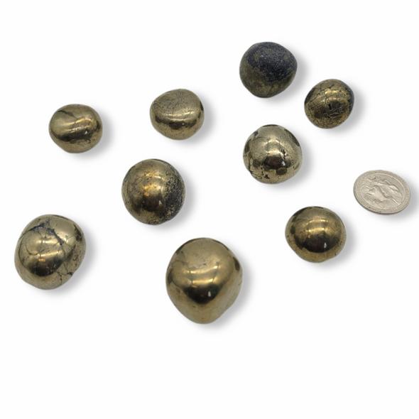 Tumbled Stone - Pyrite