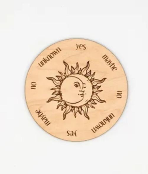 Pendulum Board - Sun & Moon