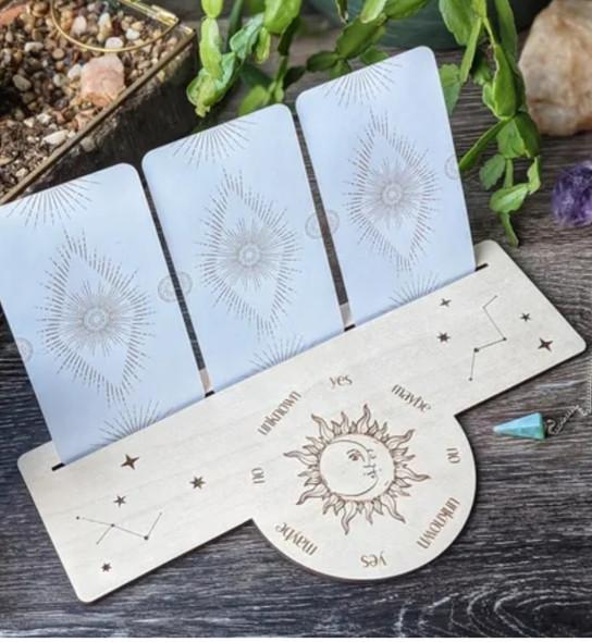 Pendulum Board & Tarot Stand - Constellation