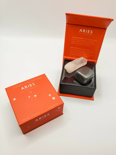 Aries Zodiac Mini Stone Pack