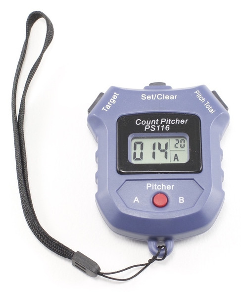Electronic Pitch Counter (with preset number alarm)