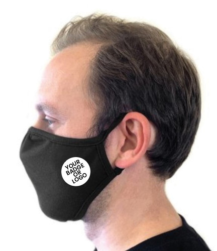 Eco Performance Face Mask - With Club or Company Logo