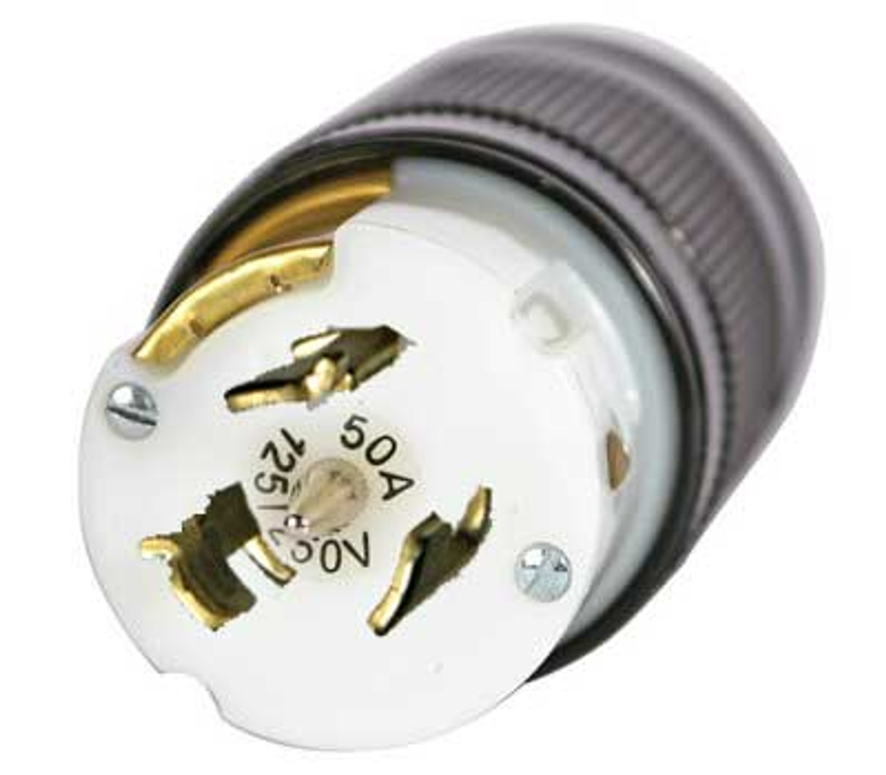 LEX 50 Amp 125/250 VAC California Style Locking Plug  Amp Plug Wiring on