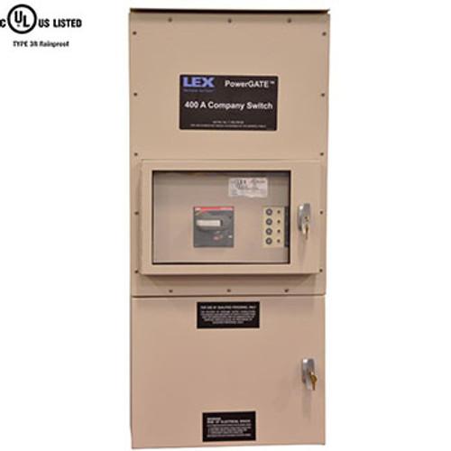 LEX 200 Amp Company Switch, Type 3R Weatherproof