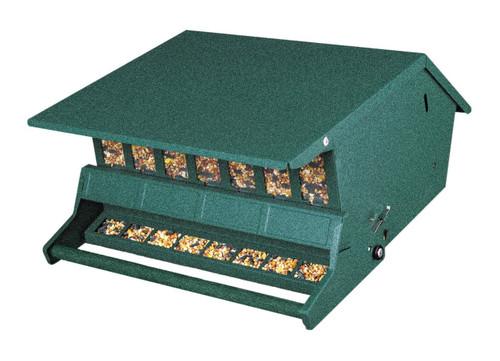 Audubon Original Bird's Choice Squirrel-Resistant Feeder Green Woodlink Delight 7511